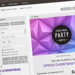 Christmas ecards & email invite designs