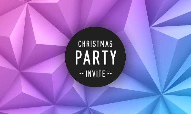 Christmas party invite online