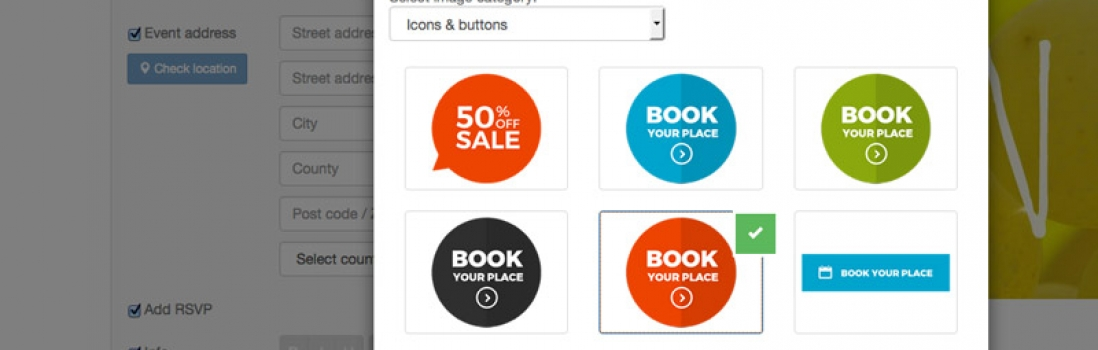 Free email marketing buttons, icons and badges for you to use in your next email campaign